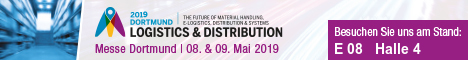 Crown Gabelstapler auf der Logistics & Distribution 2019 in Dortmund