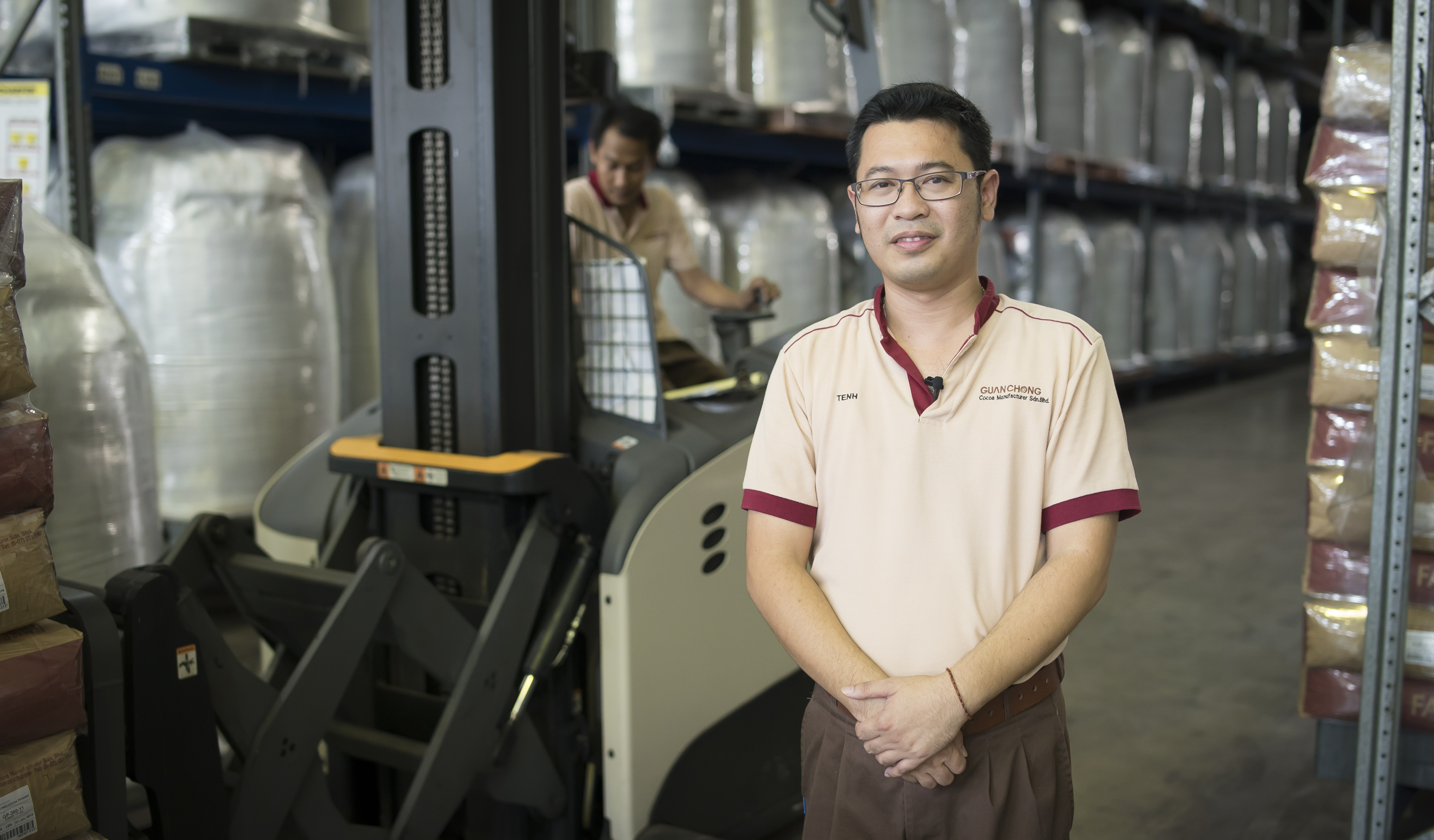Crown Equipment Boosts Guan Chong's Capacity by 50 Per Cent