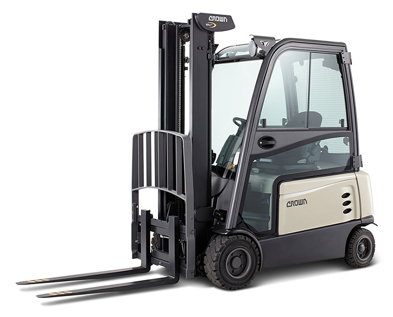 Premiere at LogiMAT 2015: Crown extends product range in counterbalanced forklift trucks segment