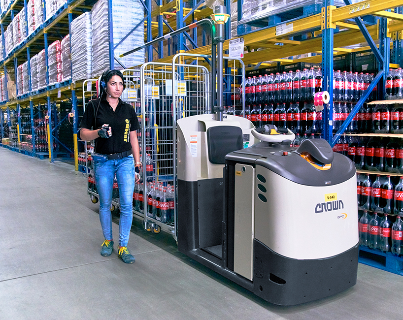 order picker GPC3000 with QuickPick Remote order picking technology