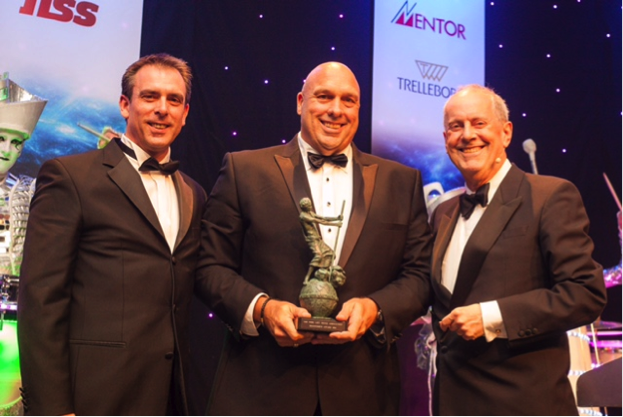 Crown forklift receives FLTA 2016 Archie Award