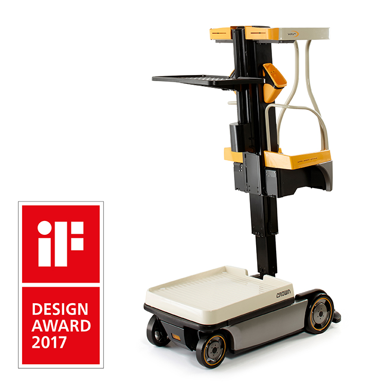 order picker WAV 60 wins iF Design Award 2017