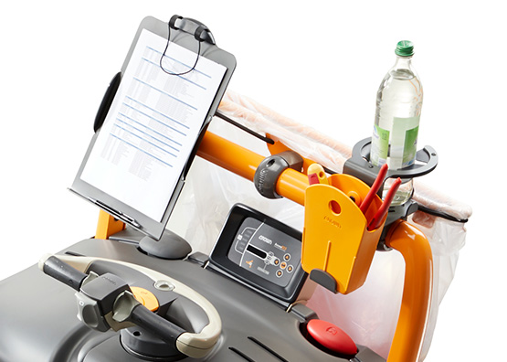 """upgraded Work Assist™ accessories create """"mobile office"""""""